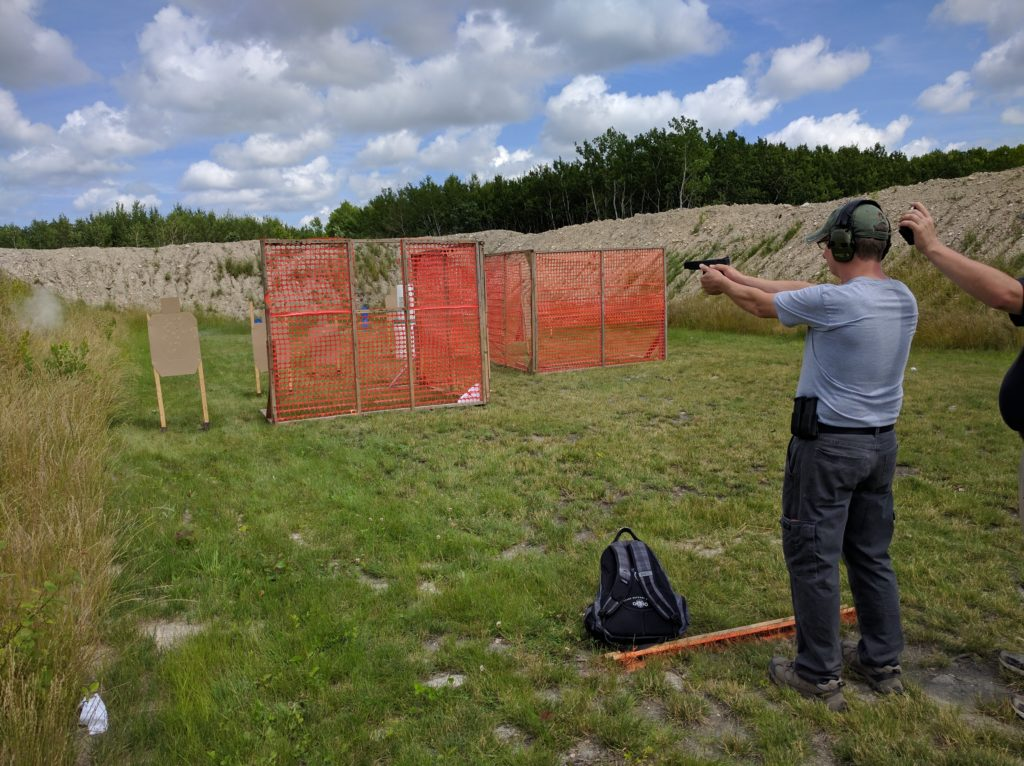 MDPL Shooter engaging targets.